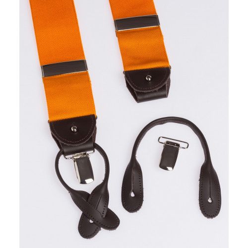 Orange suspenders Albert Thurston Howard's Paris