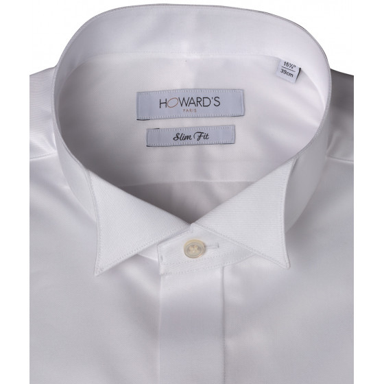 Ghiarole white wedding shirt