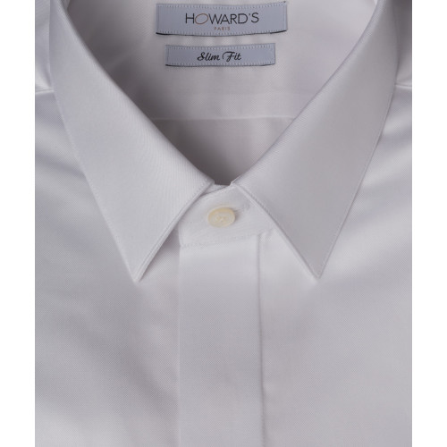 Meletole white wedding shirt