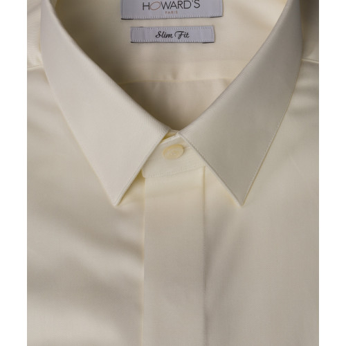Castelnovo ivory wedding shirt