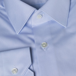Eyrignac blue french collar shirt
