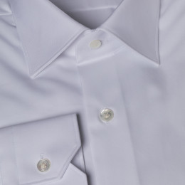 Breteuil white french collar shirt