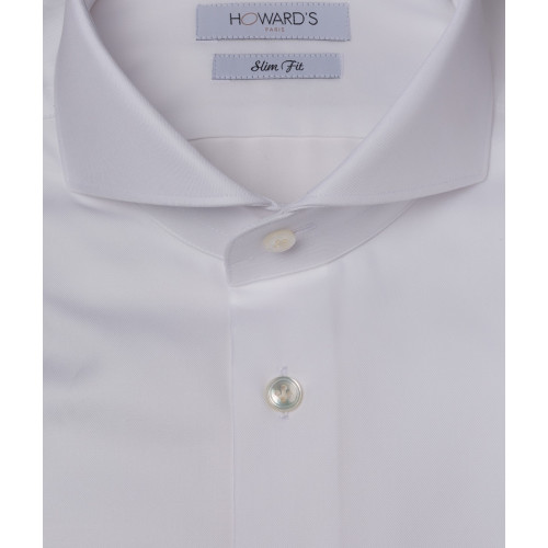 Brazzi white twill shirt