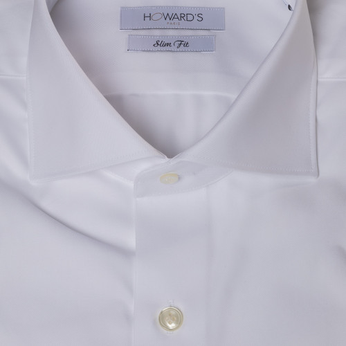 Firenze white twill shirt
