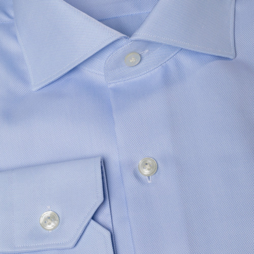 Chemise en oxford bleue Howard's Paris